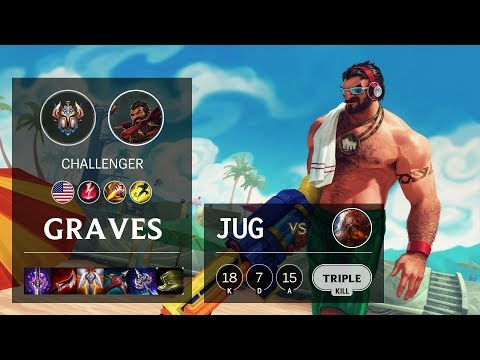 Graves Jungle vs Gragas - NA Challenger Patch 10.4