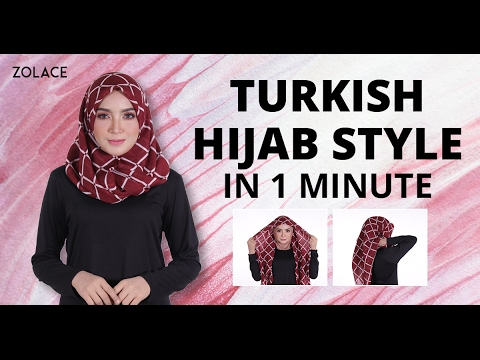 Turban Tutorial 💕 Scarf - Part 1 - YouTube