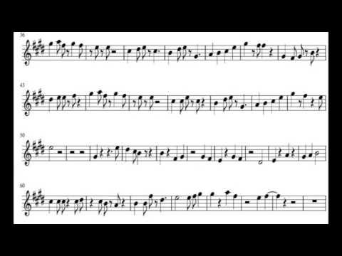 Armada- Asal Kau Bahagia (Violin Sheet Music) Instrumental