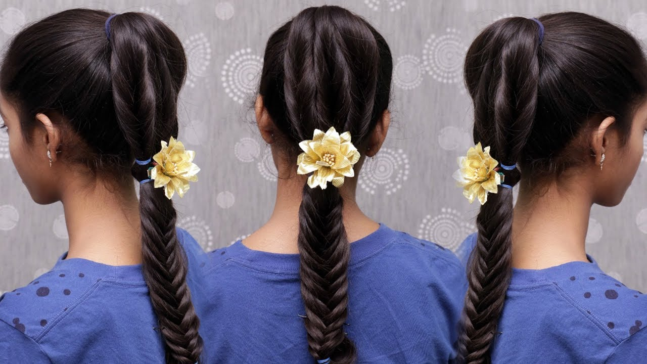 Most Beautiful Stylish Hair Style For Cute Little Girl Baby