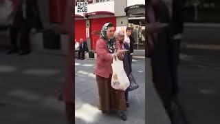 Recep Tayyip Erdoğan'a Hakaret Ve Küfür Eden Türbanlı Kadın