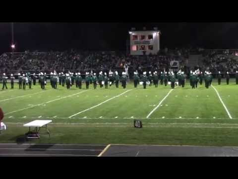 Rhinelander High School Band- Half Time At Homecoming Game