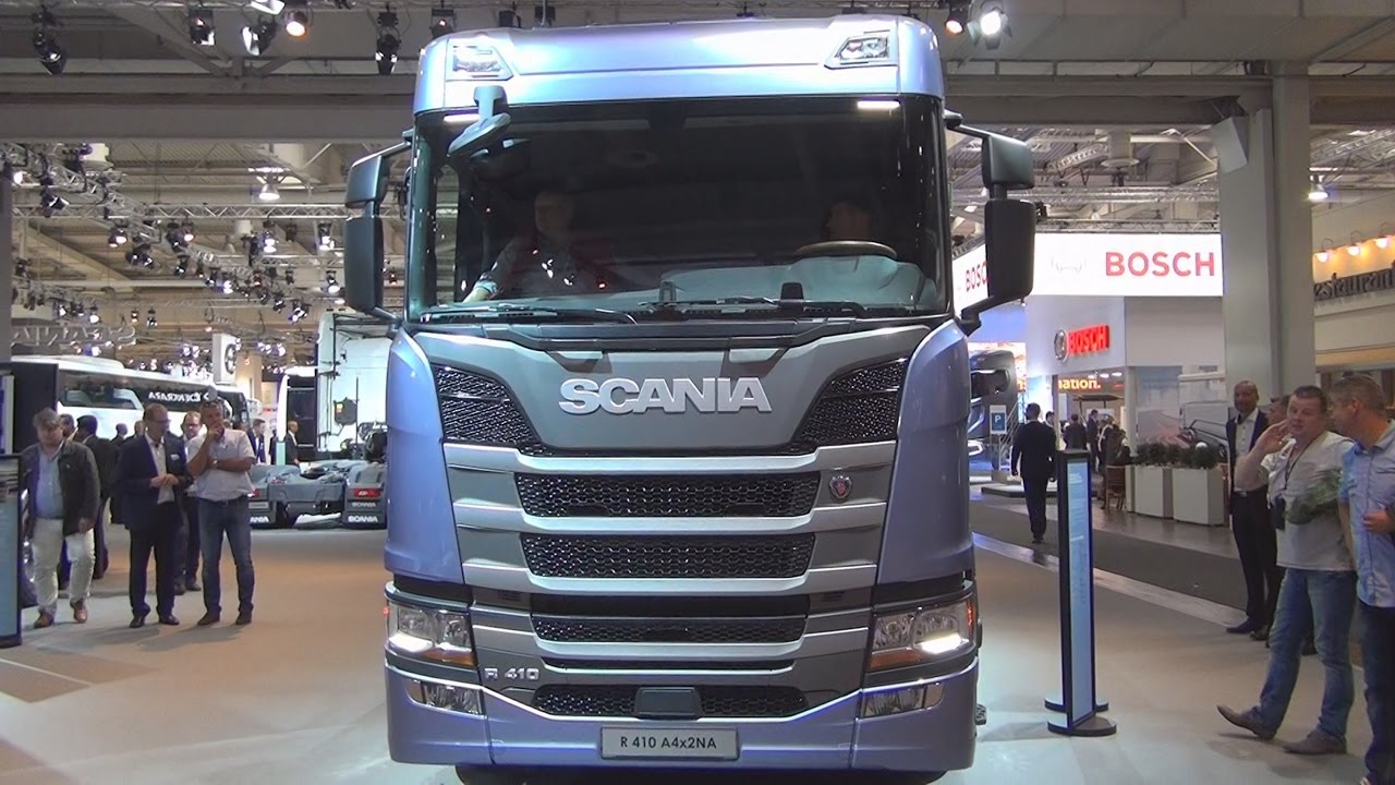 Scania R 410 A4x2NA Tractor Truck (2017) Exterior and Interior in 3D