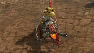Drakensang Online - Epic Mount Amored Lava Dog