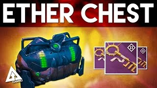 Destiny Treasure Key Farming - Ether Chest Rewards (house Of Wolves)