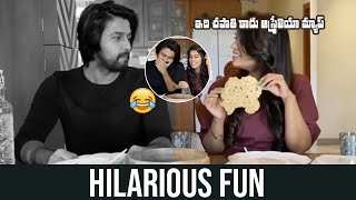 Chiranjeevi Daughter Srija Hilarious Comments On Kalyan Dev | Kalyan Dev Cooking at Home