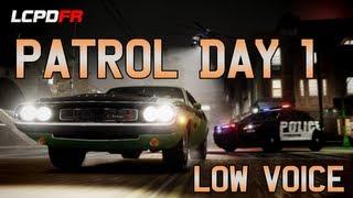Low Voice! GTA IV LCPD:FR - Patrol Day 1