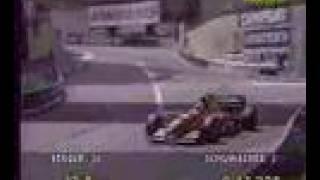 Gerhard Berger Ferrari 412 Monaco 1994