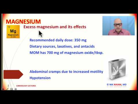 MAGNESIUM HIGH OR LOW BY NIK NIKAM MD