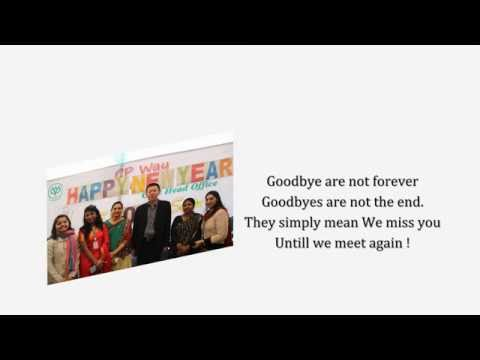 Farewell Video for Mr. Vice Chairman