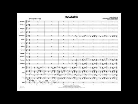 Blackbird arranged by Mike Tomaro