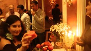YALDA Night Celebrated by Persians in Holland, Dec. 2011 (organized by PDN) - شب یلدا در هلند