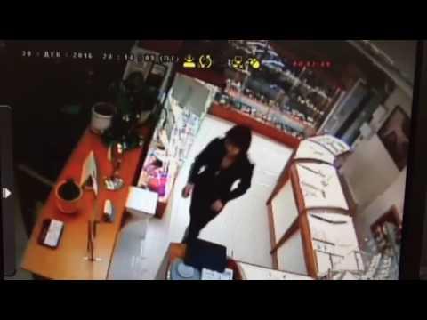 Ограбление ювелирного салона в Иркутске