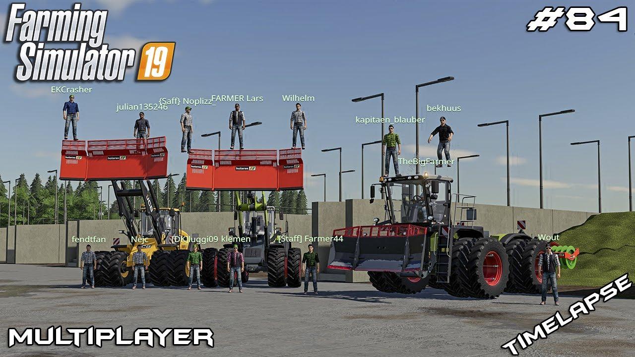 Big SILAGE harvest in Deutschland   Niedersachsen21   Multiplayer Farming Simulator 19   Episode 84
