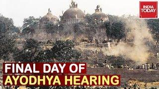 Ayodhya Hearing : Nirmohi Akhara To Present Final Arguments, Ayodhya Verdict By November?