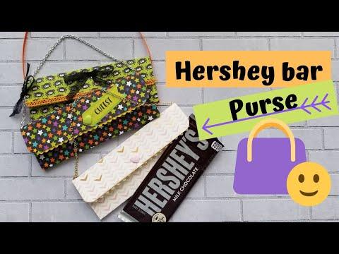 Hershey Purse. Craft Fair Item.