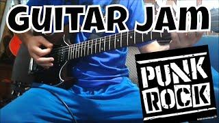 ☠ Old School Punk Rock Guitar Jam (Xmandre Guitar Improvisation)
