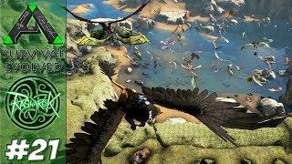 RAGNAROK AUMENTOU E ENCHEU DE DRAGÕES - MAP UPDATE - ARK Survival Evolved #21 - RAGNAROK DLC