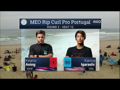 Meo Rip Curl Pro Portugal: Round Two, Heat 12