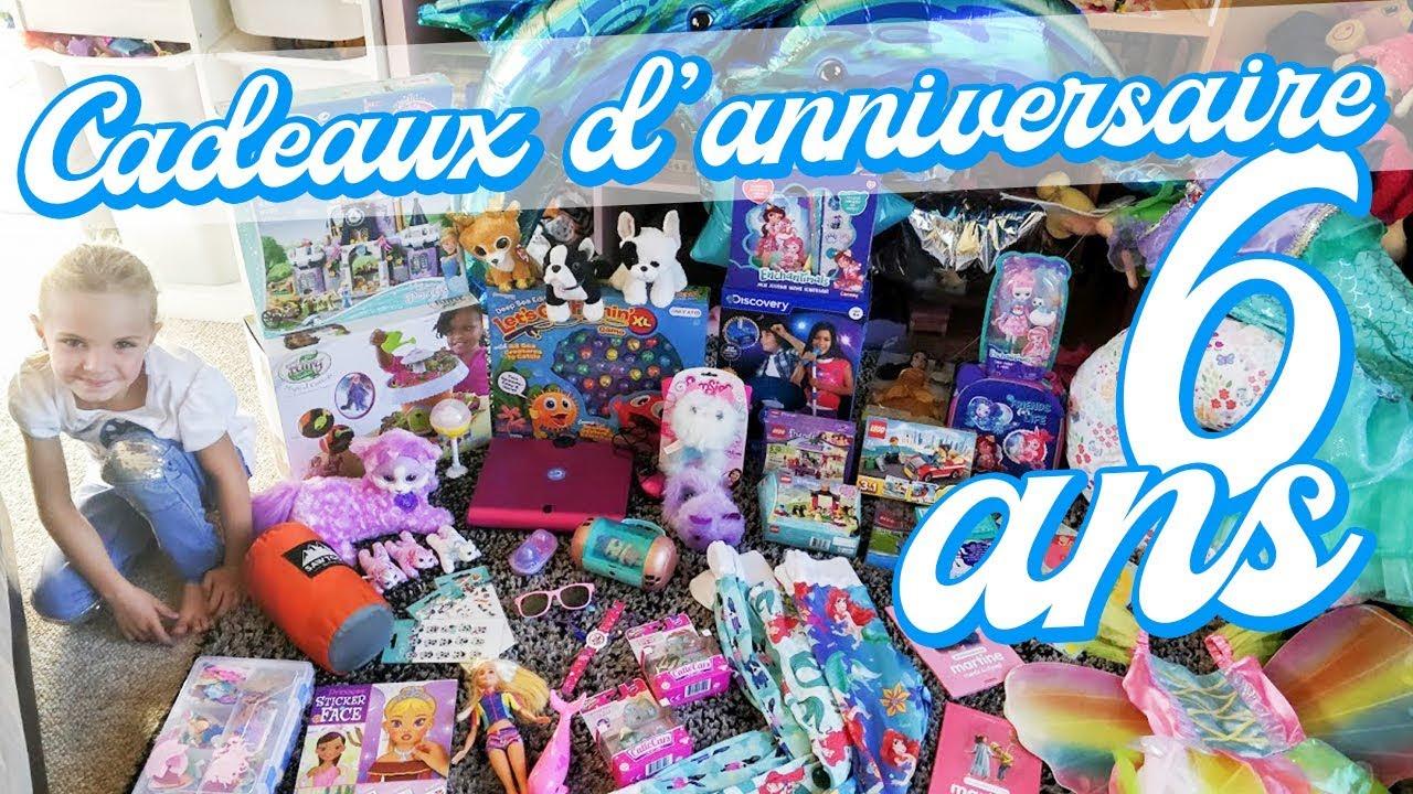 SES CADEAUX D'ANNIVERSAIRE 6 ANS 🎁 - YouTube