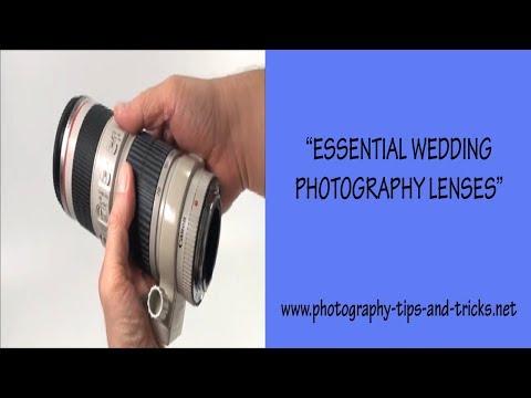 Essential Wedding Photography Lenses
