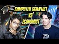 COMPUTER SCIENTIST VS ECONOMIST // WHOSE DEGREE MADE THEM SMATER?