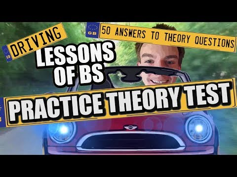 Driving Theory | 50 Theory Test Questions Answered!