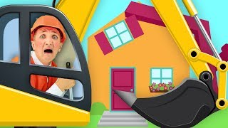 Construction Trucks Song for Kids | Super Simple Nursery Rhymes.
