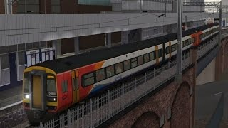 class 158 emt manchester to warrington train simulator 2014