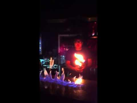 ARAME KARAOKE CLUB FIRE SHOW BY DAV