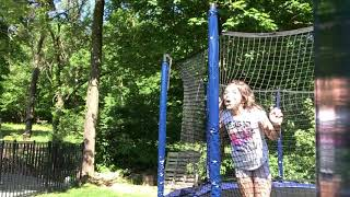Big Trampoline Fun  Learning Games And Watching My Front Flips