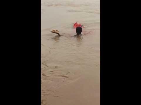 Ganesh Visarjan Live Beas River 2016
