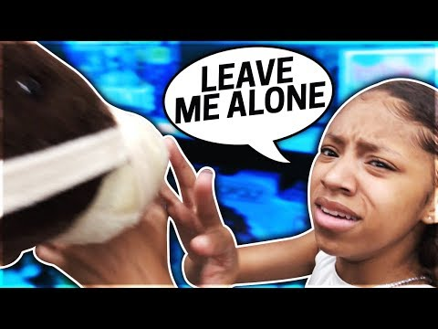 ANNOYING MY TWIN SISTERS FOR 24 HOURS !! **BAD IDEA**