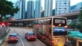 KMB 259D ATENU1088 UD8004 鯉魚門邨→龍門居