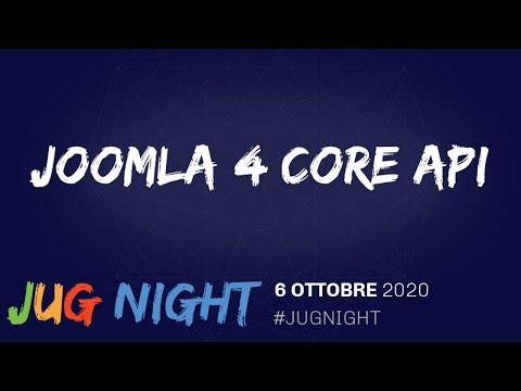 Joomla 4 Core API