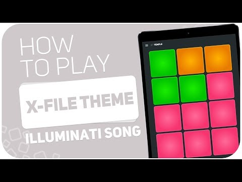 How to play: X-FILE THEME (Illuminati song) - SUPER PADS - Kit Temple