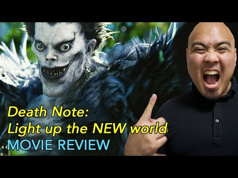 Death Note: Light up the NEW world - Movie Review