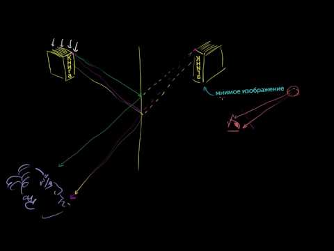Как осуществляется построение изображения предметов в линзах
