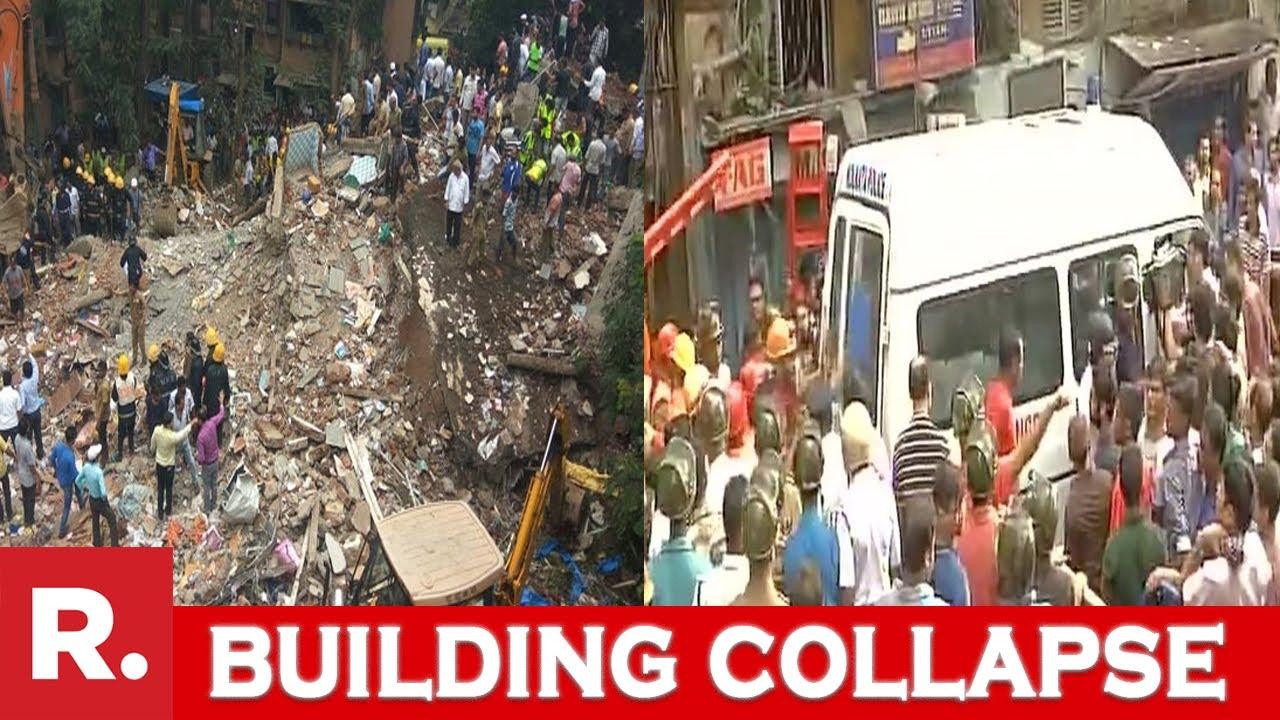 Building Collapse: Non Stop Live Coverage From Mumbai & Kolkata - YouTube