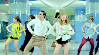 PSY The dance from Gangnam Style in one minute - Remix HD
