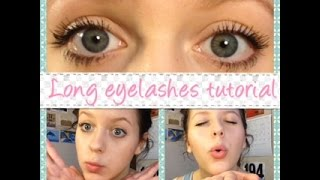 How to make your eyelashes naturally thick and long! Thumbnail