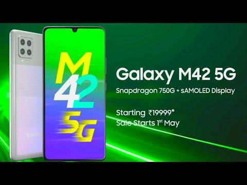 The New Samsung Galaxy M42 5G - #FastestMonster   Samsung Galaxy M42 5G - Features & Specs   Samsung