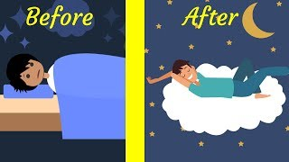 How to Fall Asleep in Just 2 Minutes!