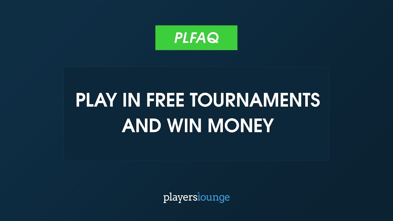 PlayersLounge   Play in Free Tournaments and Win Money