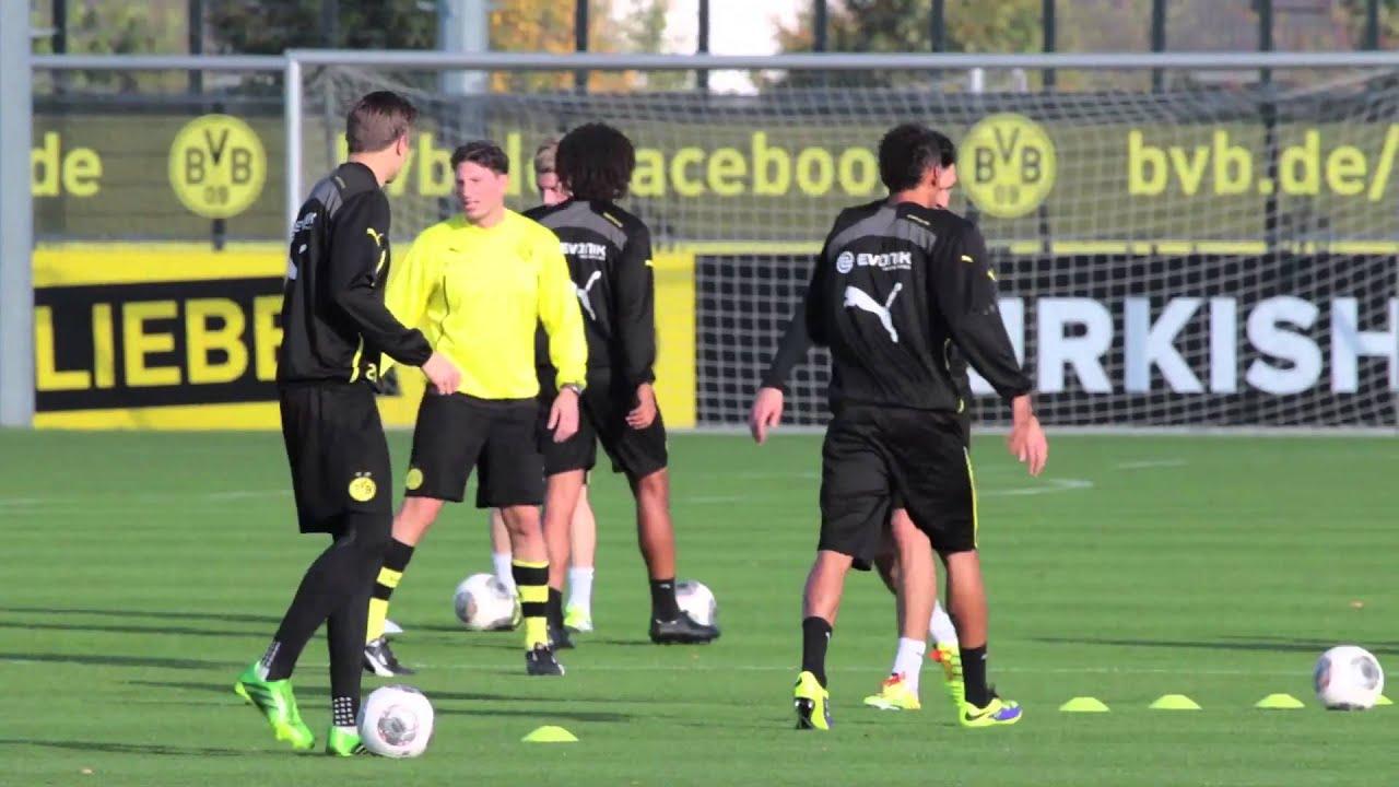 Interview auf dem BVB-Trainingsgelände