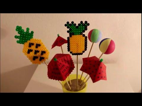 Ideen Zu Sommerliche Bugelperlen Geschenkideen