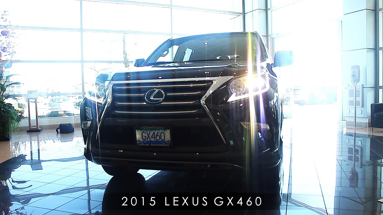Open Road Lexus Richmond >> 2015 Lexus GX 460 Luxury Review: : Interior & Exterior ...