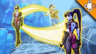 WIDOWTRACER IS HERE! Overwatch Funny & Epic Moments 373