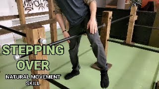 Stepping Over an Obstacle (Natural Movement Skill)