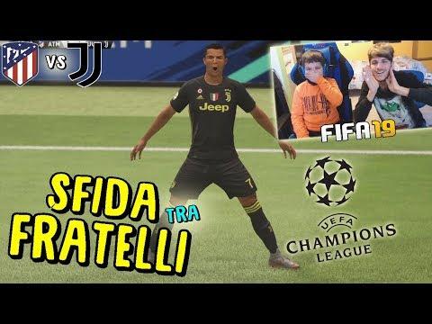 ATLETICO MADRID vs JUVENTUS - OTTAVI DI FINALE CHAMPIONS LEAGUE! - Fifa 19